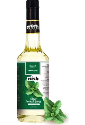 Nish Kahve Nane Aromalı Şurup 700 ml