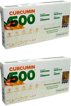 Patina Curcumin 500 Detox 10 Şase x 6 gr 10 Günlük Kullanım x 2 Adet