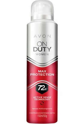 Avon On Duty Max Protection Kadın Deodorant 150 Ml.