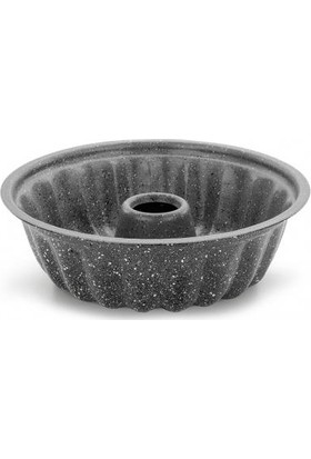 Ulutaş Kek Kalıbı Iç Dış Granit 28 cm Siyah