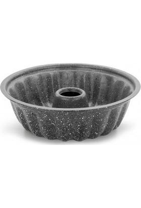 Ulutaş Kek Kalıbı Iç Dış Granit 24 cm Siyah