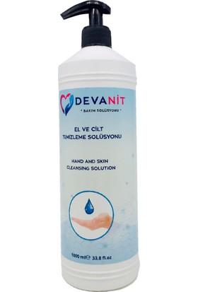 Devanit 3 Adet, 1000 ml Solüsyon, Devanit Dezenfektan-El Temizleme Jeli