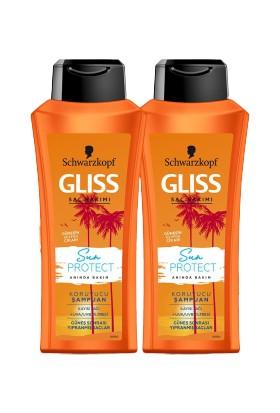 Gliss Sun Protect Şampuan 525 ml x 2 Adet