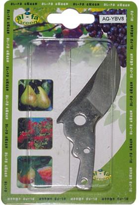 Al-Fa Green Bağ Makası İçin Yedek Bıçak Ag-Ybv8 Al-Fa Green