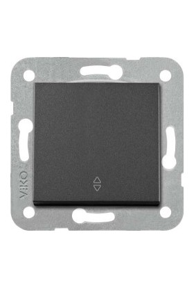 Viko Artline Artline Novella/Trenda Siyah Vavien Düğme Mekanizma Hariç