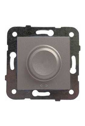 Viko Artline Artline Novella/Trenda Antrasit Pr0 Dimmer/1-10V Düğme Mekanizma Hariç