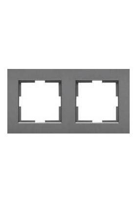 Viko Artline Artline Novella Füme İkili Çerçeve