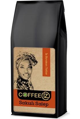 Coffeeız Damla Sakız Salep Aromalı Içecek Tozu 1000 gr