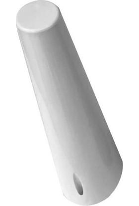 Arwino Lükens Ayak Beyaz 20 cm Mobilya Ayağı , 4'lü , Vidaları Dahil