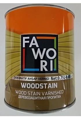Fawori Woodstaın Ahşap Koruyucu 0.75 lt Orman Yeşil