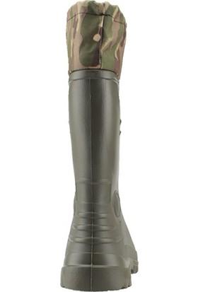 Gezer 00361 Kauçuk Çoraplı Bahçe Su Geçirmez Erkek Çizme