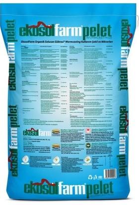 Ekosolfarm Organik Solucan Gübresi Pelet Form 25 kg