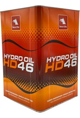 Petrol Ofisi Hydro Oil Hd 46 15 kg 17 lt Hidrolik Sistem Yağı