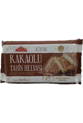 Asbal Kakaolu Helva 500 gr