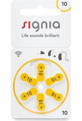 Signia 10 Numara Işitme Cihazı Pili 60'lı