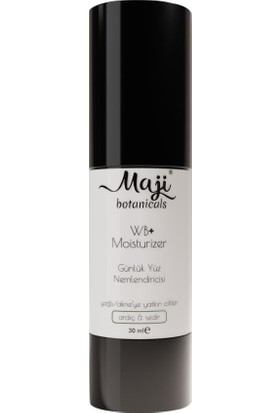 Maji Botanicals Wb+ Moisturiser Yağlı Ciltler Yüz Nemlendiricisi 30 ml