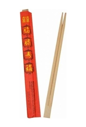 YYB Bambu Yemek Çubuğu - Chopstıck 25 Çift / Paket