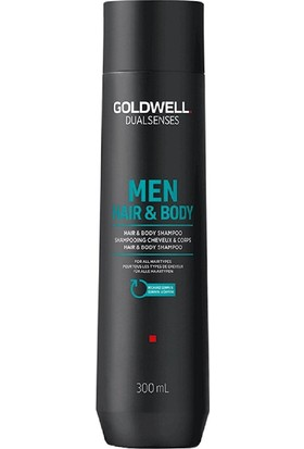 Goldwell Dualsenses For Men Saç Ve Vücut Şampuanı 300Ml