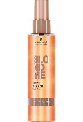 Schwarzkopf Blondme Shine Elixir Durulanmayan Parlaklık Kremi 150 ml