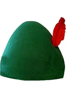 Kostümce Oktoberfest Alman Şapkası Yetişkin