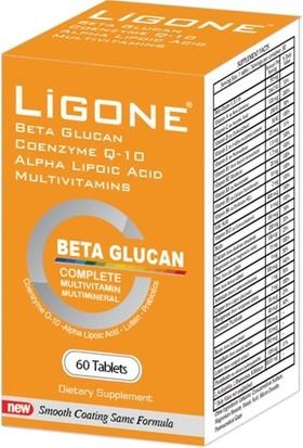 Ligone Beta Glucan Probiotic Multivitamin 60 Tablet