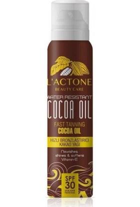 L'actone Bronzlaştırıcı Kakao Güneş Yağı 30 Spf 150 ml