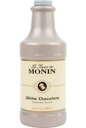 Monin White Chocolate Beyaz Çikolata Sos 1.89 lt