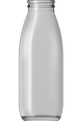 Şişecam Cam Şişe 500 ml ve Emniyetli Kırmızı Kapak (35'li Adet)