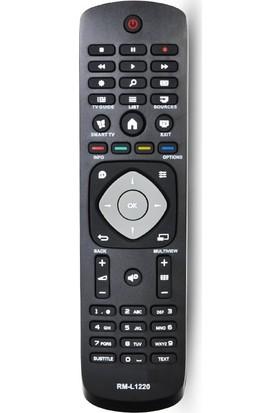Electroon Philips LED Tv Uyumlu Kumandası RM-L1220 - Kargo Ücretsiz