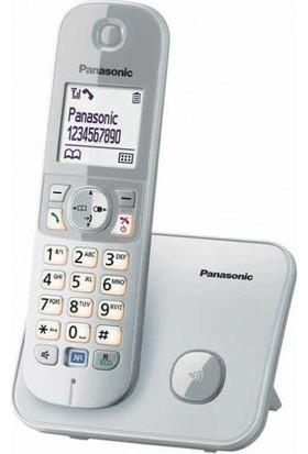 Panasonic Dect Telefon KX-TG6811 (Elektrik Kesintisinde Konuşabilme) - Beyaz