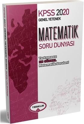 Yediiklim Yayınları 2020 KPSS Genel Yetenek Matematik Soru Dünyası