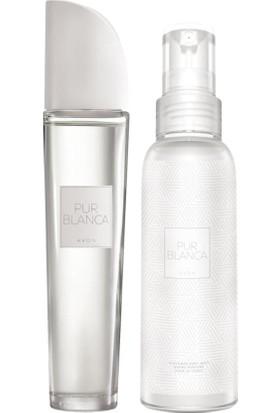 Avon Pur Blanca Kadın Parfüm ve Vücut Spreyi Seti
