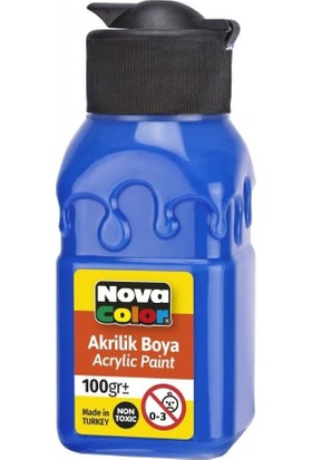 Nova Color Akrilik Boya 100 ml Mavi
