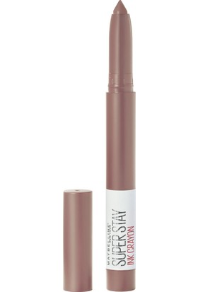 Maybelline New York Super Stay Ink Crayon Kalem Mat Ruj - 10 Trust Your Gut