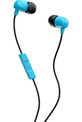 Skullcandy Jib In Ear Mikrofonlu Kulak Içi Kablolu Kulaklık S2DUYK-628 Mavi-Siyah