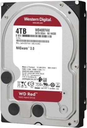 "WD Red Intellipower 3.5"" 4TB 5400RPM SATA 3 Hard Disk WD40EFAX"