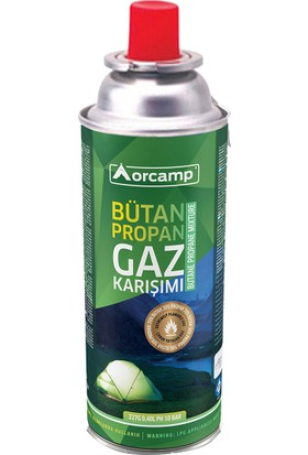 Orcamp Kamp Gaz Kartuşu Tüp 227 gr - Orgaz KTS227