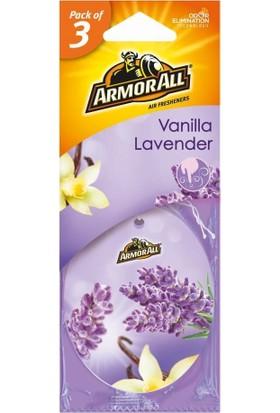 "Armor All Asma Kağıt Koku ""vanilya Lavanta"" 3 Adet"