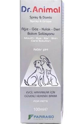 Dr. Animal Health Yara ve Cilt Bakım Solüsyonu 100 ml