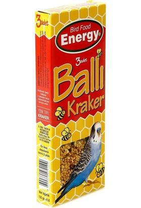 Bird Food Energy T38378 Muhabbet Kuşu Ballı Krakeri 3'lü