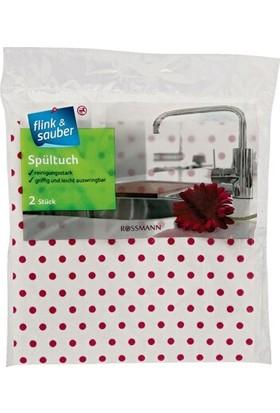 Flink & Sauber Mutfak Bezi 2'li 35 x 35 cm