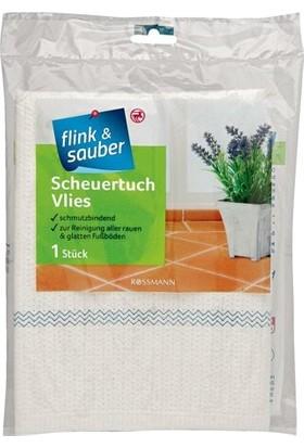 Flink & Sauber Zor Zemınler İçin Yer Bezi Dokusuz Kumaş, 50 x 60 cm