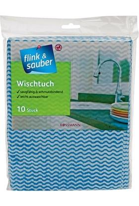 Flink & Sauber Genel Temizlik Bezi 38 x 50 cm 10'lu