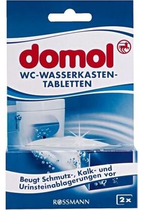 Domol Tuvalet Rezervuar Temizleyici Tablet 2'li 100 G