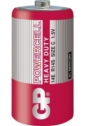 Gp 14E Powercell C/R14/E93 Orta Pil 24'lü