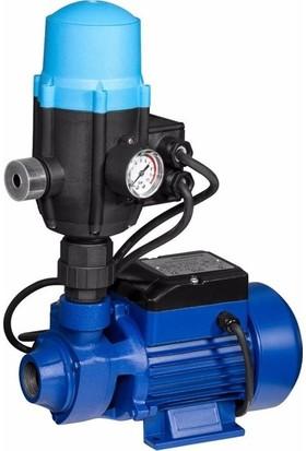 Ibeltech Hidrofor Otomatik Su Pompası Seti 0.55 Hp 1'' 33 M Dik Basar Bakır Sargı 2 Kat 2 Daire