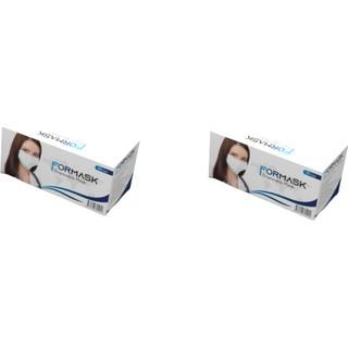 Formask Tek Kullanımlık 3 Katlı Telli Cerrahi Maske 50'li x 2 Adet