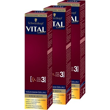 Schwarzkopf Vital Colors Krem Sac Boyasi 8 4 Kahve Kopugu X Fiyati