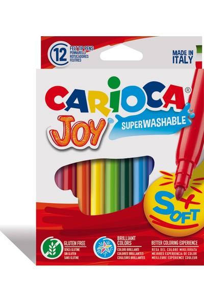 Carioca Joy Keçeli Boya Kalemi Yıkabanilir 12'li