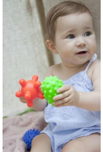 Poema & Rosa Sensory Duyusal Plastik Bebek Topu 5 Adet